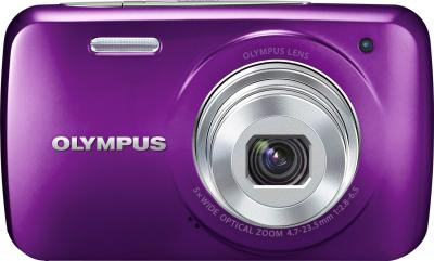Компактный фотоаппарат Olympus VH-210 Purple - вид спереди
