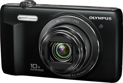 Компактный фотоаппарат Olympus VR-340 Black - общий вид