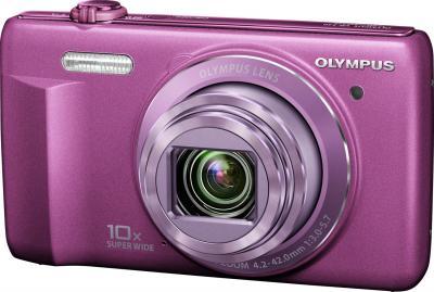 Компактный фотоаппарат Olympus VR-340 Purple - общий вид