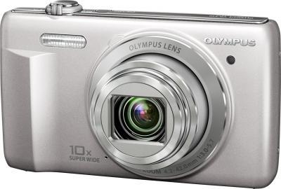 Компактный фотоаппарат Olympus VR-340 Silver - общий вид
