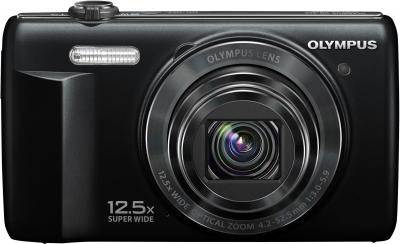 Компактный фотоаппарат Olympus  VR-360 Black - общий вид