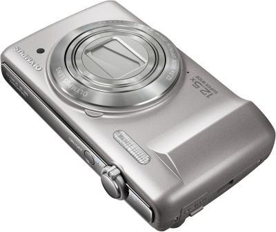 Компактный фотоаппарат Olympus VR-360 Silver - общий вид