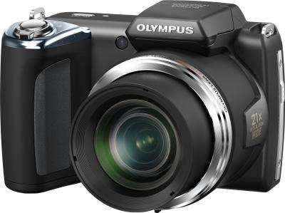 Компактный фотоаппарат Olympus SP-620UZ Black - общий вид