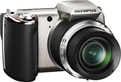 Компактный фотоаппарат Olympus SP-620UZ Silver - общий вид