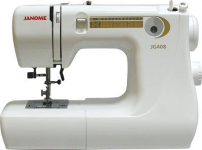 Швейная машина Janome JG 408 - общий вид