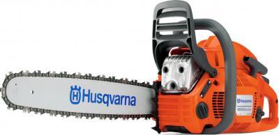 Бензопила цепная Husqvarna H-455 - общий вид