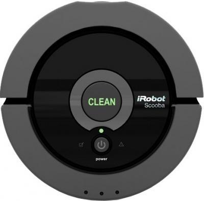 Робот-пылесос iRobot Scooba 230 - вид сверху