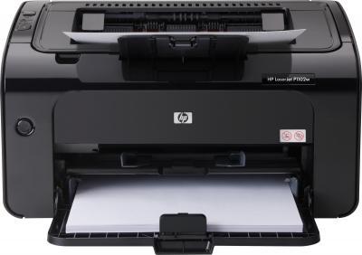 Принтер HP LaserJet P1102w (CE658A) - общий вид