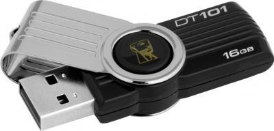Usb flash накопитель Kingston DataTraveler 101 G2 16 Gb (DT101G2/16GB) - общий вид