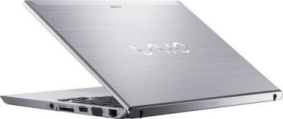 Ноутбук Sony SVT1311X1RS - Вид сзади