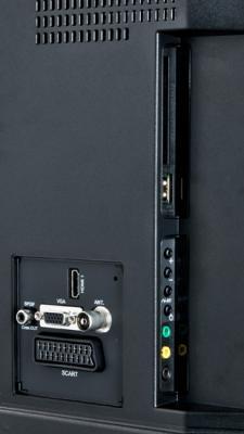 Телевизор Sharp LC-22LE240EV - входы/выходы