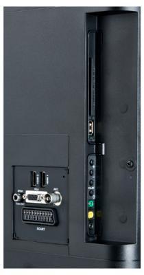 Телевизор Sharp LC-32LE140EV - входы/выходы