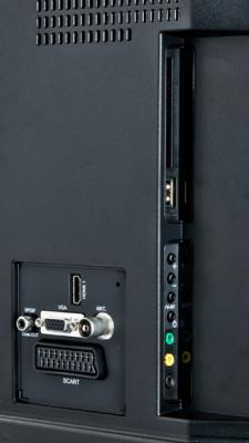 Телевизор Sharp LC-32LE240EV - входы/выходы