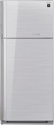 Холодильник с морозильником Sharp SJ-GC700VSL - Вид спереди