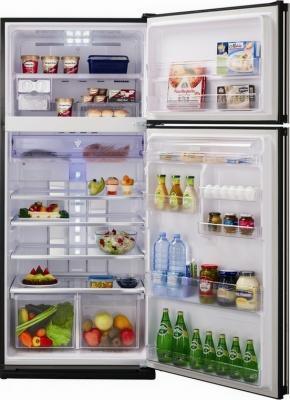 Холодильник с морозильником Sharp SJ-GC700VSL - Общий вид