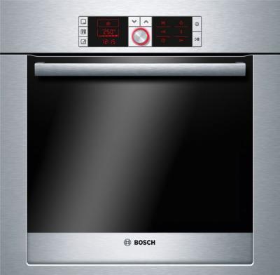 Электрический духовой шкаф Bosch HBG36T650 - вид спереди