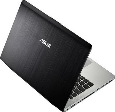 Ноутбук Asus N46VZ-V3030D - Вид сзади