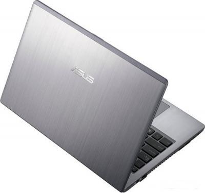 Ноутбук Asus U47VC-WO005V - Вид сзади приоткрытый