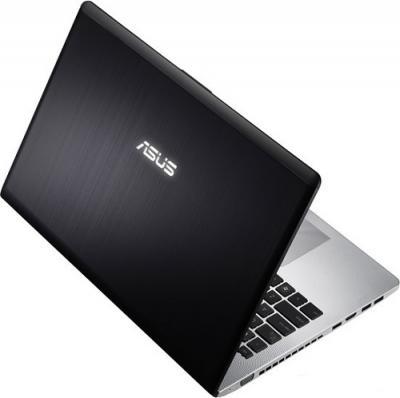 Ноутбук Asus N56VZ-S4043D - вид сзади