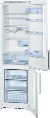 Холодильник с морозильником Bosch KGE39AW20R - общий вид