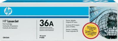 Комплект тонер-картриджей HP 36A (CB436AD) - общий вид