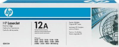 Тонер-картридж HP 12A (Q2612AD) - общий вид