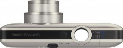 Компактный фотоаппарат Canon Digital IXUS 100 IS (PowerShot SD780 IS) - Вид сверху