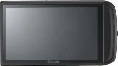 Компактный фотоаппарат Canon Digital IXUS 210 IS (PowerShot SD3500 IS) Black - Вид сзади