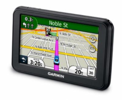GPS навигатор Garmin Nuvi 40 - повернут