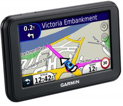 GPS навигатор Garmin Nuvi 50 - повернут