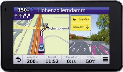 GPS навигатор Garmin nuvi 3490LMT Европа - вид спереди