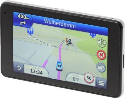 GPS навигатор Garmin nuvi 3490LMT Европа - вид сбоку