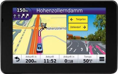 GPS навигатор Garmin nuvi 3590LMT Европа - вид спереди