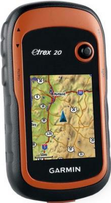 Туристический навигатор Garmin eTrex 20 - вид спереди