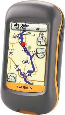 Туристический навигатор Garmin Dakota 10 - вид сбоку