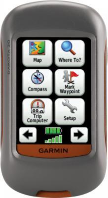 Туристический навигатор Garmin Dakota 20 - вид спереди
