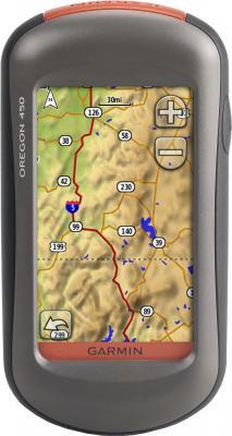 Туристический навигатор Garmin Oregon 450 - вид спереди