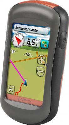 Туристический навигатор Garmin Oregon 450 - вид сбоку