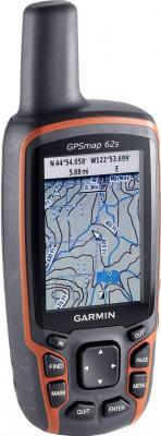 Туристический навигатор Garmin Gpsmap 62s - вид сбоку