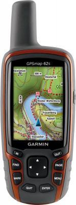 Туристический навигатор Garmin Gpsmap 62s - вид спереди