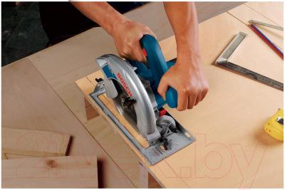 Профессиональная дисковая пила Bosch GKS 190 Professional (0.601.623.000) - в работе