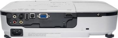Проектор Epson EB-W12 - вид сзади