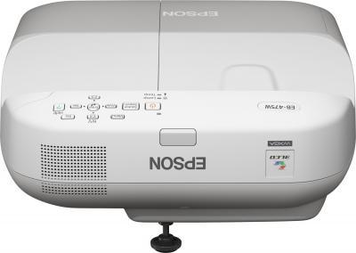 Проектор Epson EB-475W - фронтальный вид