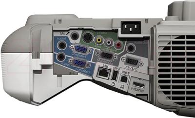 Проектор Epson EB-485W - разъемы