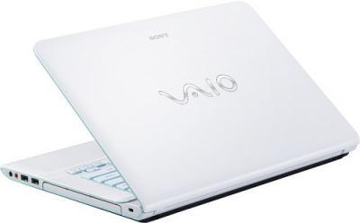 Ноутбук Sony VAIO SVE14A1S6RW - Вид сзади