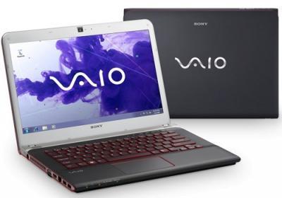 Ноутбук Sony VAIO SVE14A1V6RB - Вид с двух сторон
