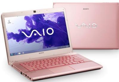 Ноутбук Sony VAIO SVE14A1V6RP - Вид с двух сторон