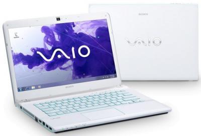 Ноутбук Sony VAIO SVE14A1V6RW - Вид с двух сторон