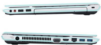Ноутбук Sony VAIO SVE14A1V6RW - Вид в закрытом состоянии