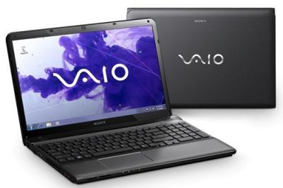 Ноутбук Sony VAIO SVE1511S9RB - Вид с двух сторон